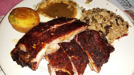 Virgil's Real Barbecue : Les ribs