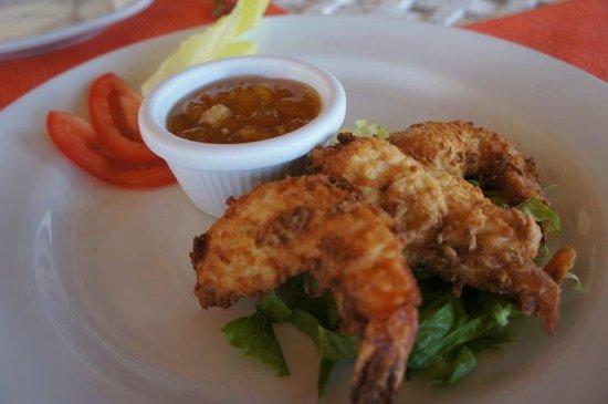 Hotel Hacienda Morelos: Coconut Shrimp