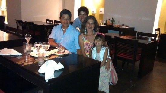 Hotel Marina El Cid Spa & Beach Resort : Cena en Alcazar (rest. de especialidades)