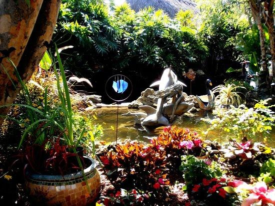 Best Western Naples Inn & Suites: angolo del bellissimo giardino