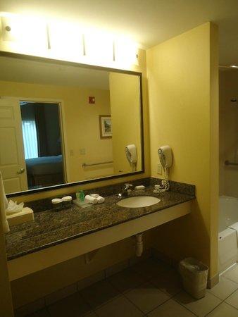 Homewood Suites Miami-Airport / Blue Lagoon : Baño