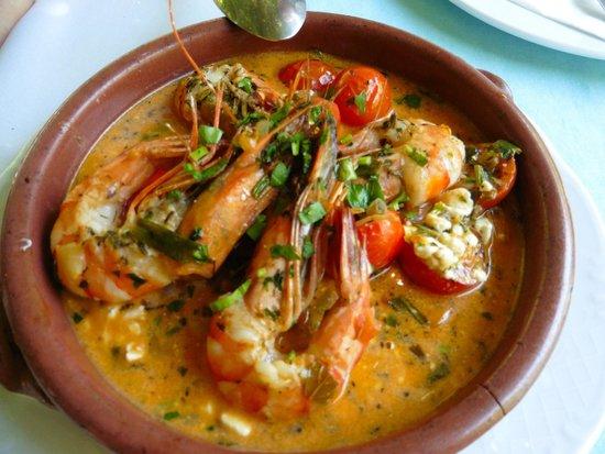 Petrino : Shrimp Saganaki