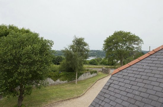 Ashbrook, Bangor Boutique Bed and Breakfast: Amazing View of The Menai Straits  from the attic complex