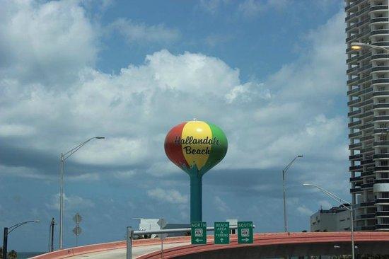 Hallandale Beach: Balão