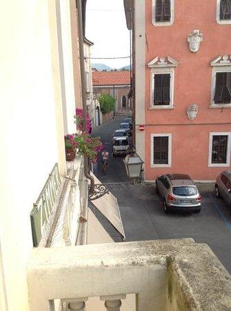 Bed & Breakfast Lucca in Centro: udsnit af udsigten fra balkonen