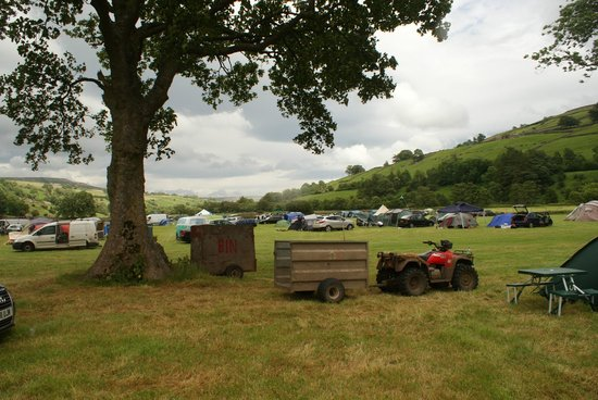 Hazel Brow Farm Visitor Centre: CAMP