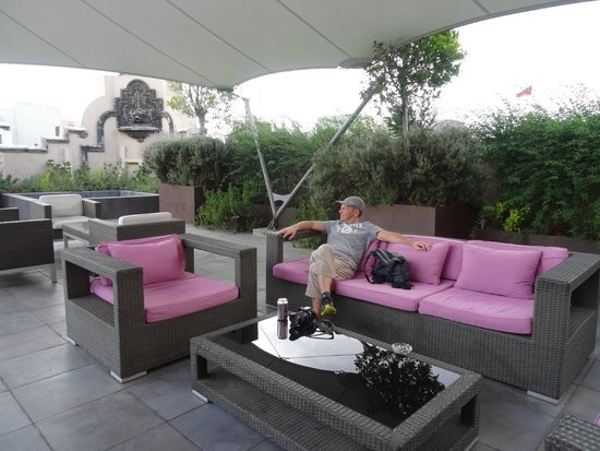Hampton Inn & Suites Mexico City - Centro Historico: The roof terrace