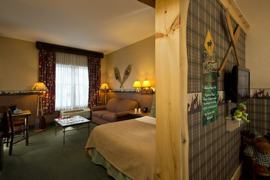 Six Flags Great Escape Lodge & Indoor Waterpark : Klub Moose Suite
