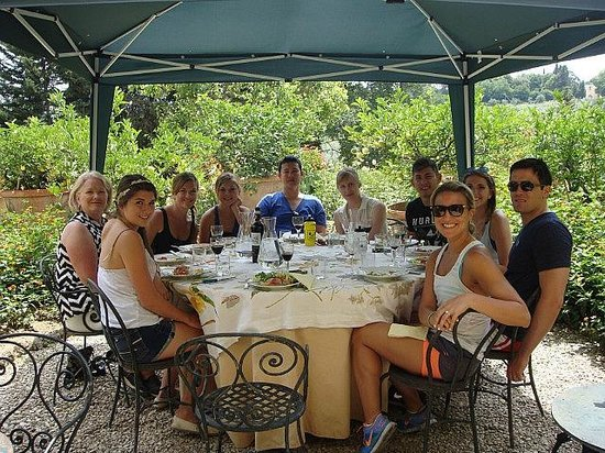 We Like Tuscany: Our riding crew...such a great group!
