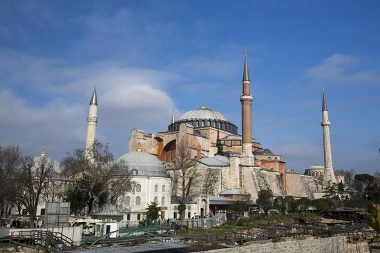 Four Seasons Hotel Istanbul at Sultanahmet : Hagia Sofia from the roof