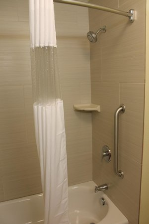La Quinta Inn & Suites Rochester: Very roomy shower/tub