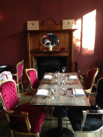 Jolyon's at No. 10: Dining room