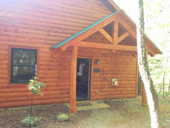 Robert Frost Mountain Cabins: Our cabin