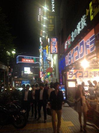 Shibuya Center-gai : Shibuya