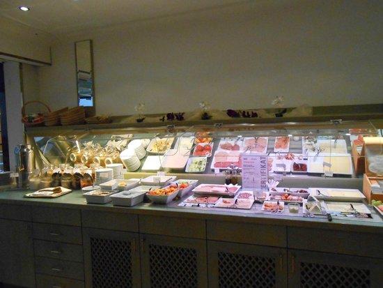 Derag Livinghotel Grosser Kurfürst : Un choix varié pour le petit déjeuner