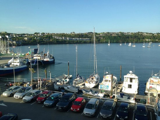 Trident Hotel Kinsale: View from our room.