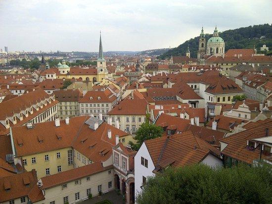Grand Hotel Bohemia : Vista