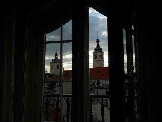 Grand Hotel Bohemia: Vista desde una de las ventanas