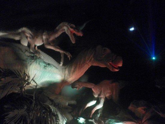 Zoomarine Algarve : the t-rex show