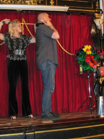 Houdini Museum: Dorothy at work and play