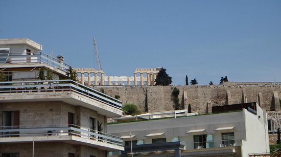 Philippos Hotel: View from Balcony