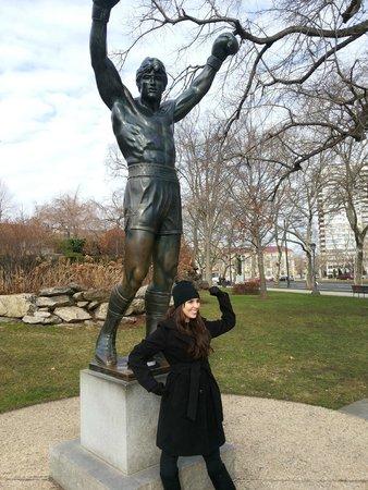 Rocky Statue: Rocky Balboa  Statue