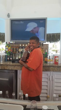 Hard Rock Hotel & Casino Punta Cana : Best Bartender around!  Jesus..hes the man!