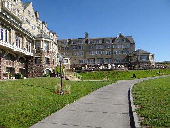 The Ritz-Carlton, Half Moon Bay: View coming back from the pool