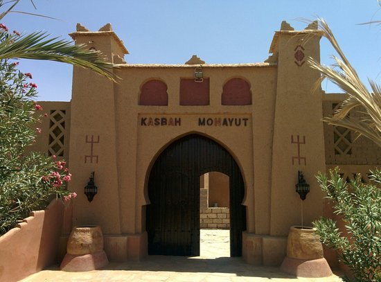 Hotel Kasbah Mohayut: Entrada