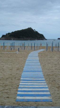 Playa de La Concha: Playa de Ondarreta