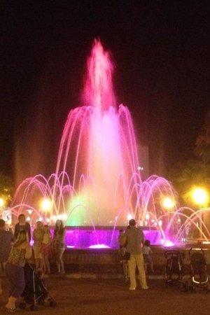 Illuminated Fountain: Amazing show .