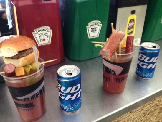 Target Field: Bloody Mary's from Hrbek's