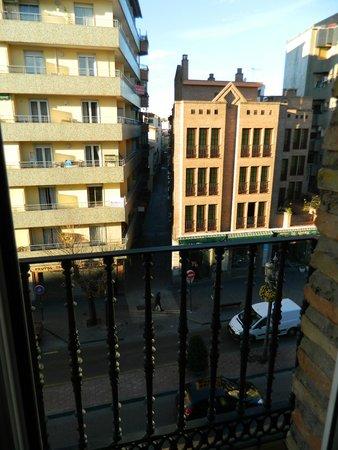 Hotel Dauro Granada: vista desde la habitación