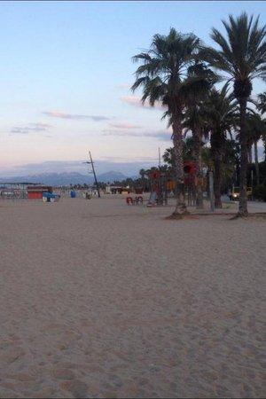 Playa de Llevante: Early morning .