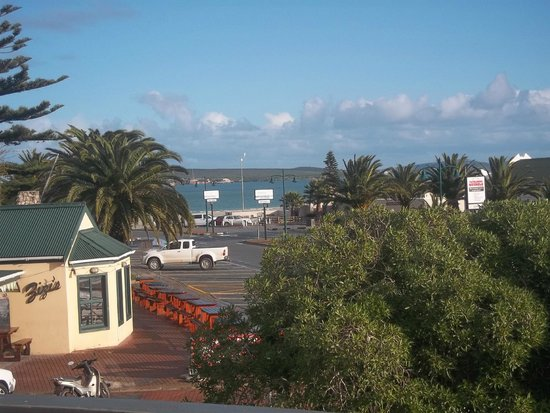 Windtown Lagoon Hotel: View from  the top floor