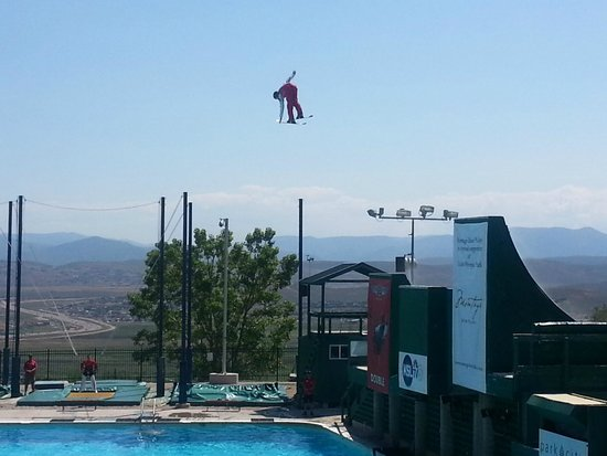 Utah Olympic Park: Flying Aces Show