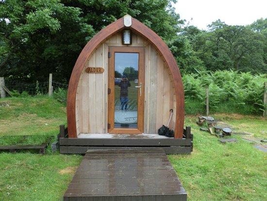 Lochranza Caravan & Camp Site: The pod