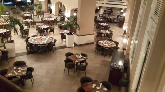 Sugar Beach Golf & Spa Resort : Mon Plasir Dining Area