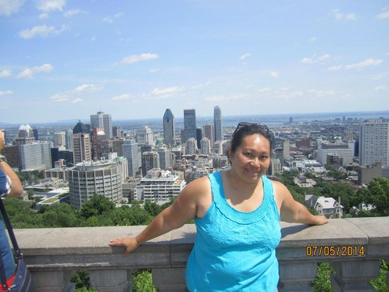 Mont Royal : View of the city