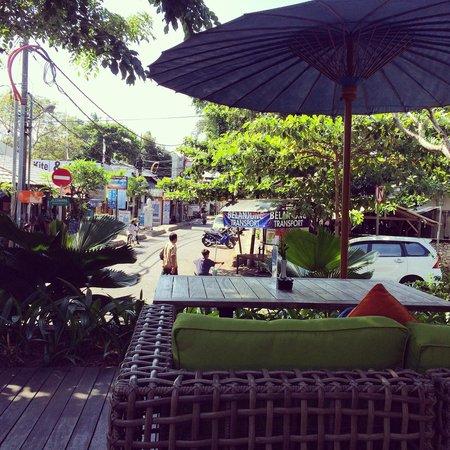Sudamala Suites & Villas : View at breakfast