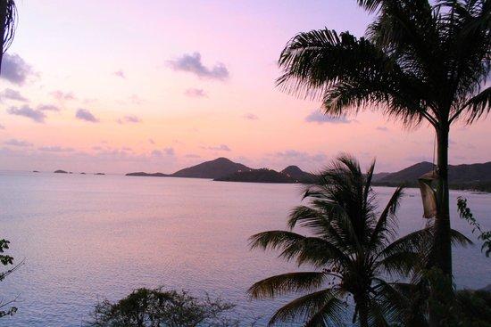 COCOS Hotel Antigua: tramonto bellissimo