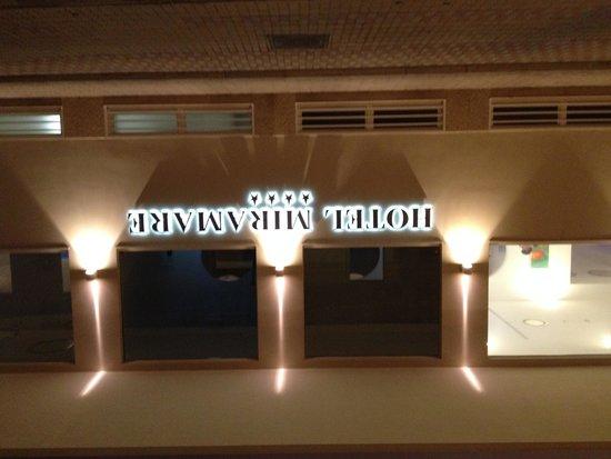 Hotel Miramare Stabia: Entrance