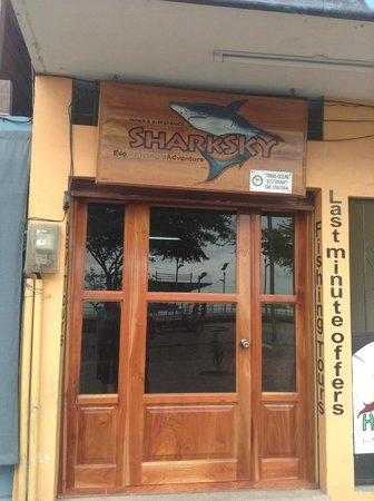 Sharksky Ecoadventures Galapagos: Shark Sky office