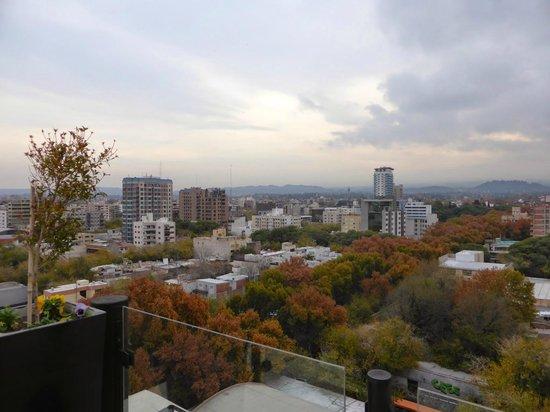 Tower Inn & Suites San Rafael: vista desde el piso 14