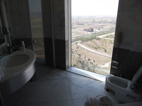 Rixos Konya: Вид из ванной комнаты