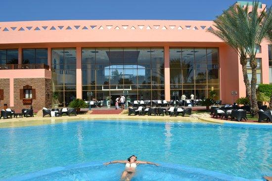 Nubian Island Hotel: Днем.