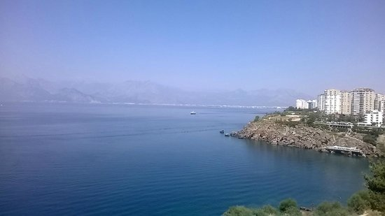 La Boutique Hotel Antalya: Sea view from the terrace
