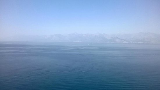 La Boutique Hotel Antalya : Sea view from the terrace