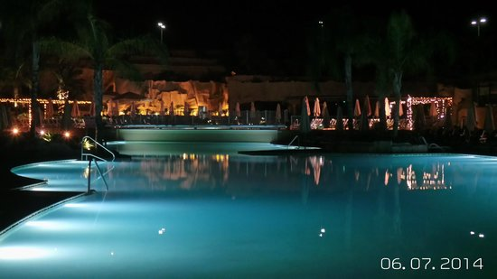 db Seabank Resort + Spa : The Grotto by night