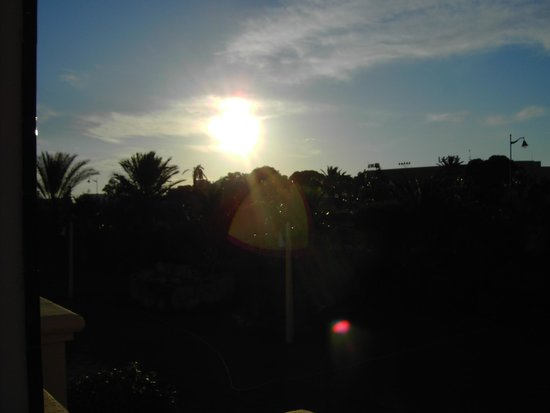 Medina Belisaire & Thalasso : morning sun rise from room